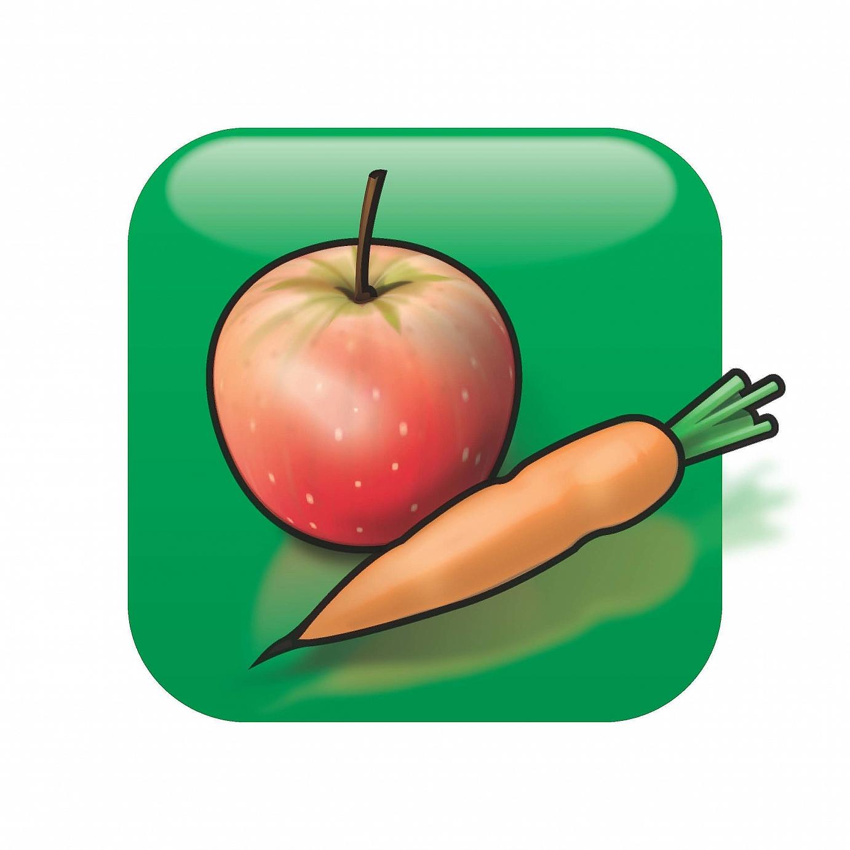 Salzige Ernährung und Früchte